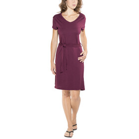 Royal Robbins Merinolux Dress Women Plum Wine